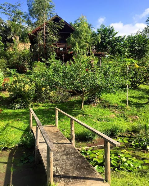 Rustic Countryside Cabin Retreat | Jacana Cabin
