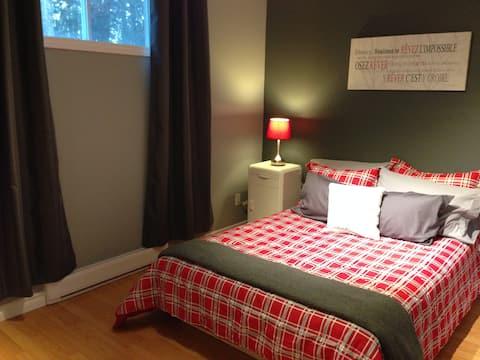La belle canadienne, chambre privée