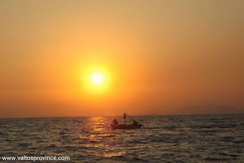 Fishermen in the sunset!
