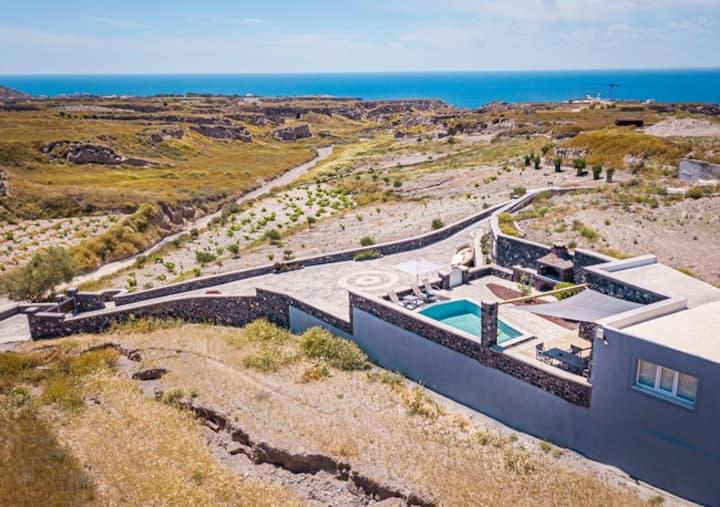 Klimata House - Private Jacuzzi Pool & BBQ Villa