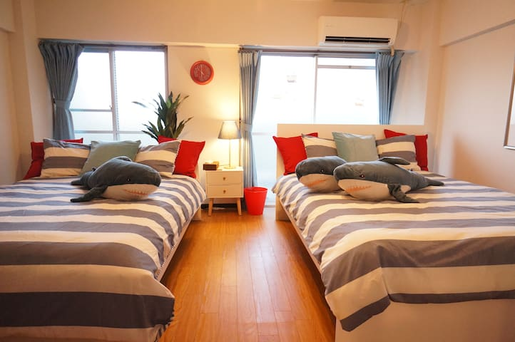 EXTREME DEAL!!! 15 min from USJ! Osaka! 7 ppl max! - Ōsaka-shi - Apartment