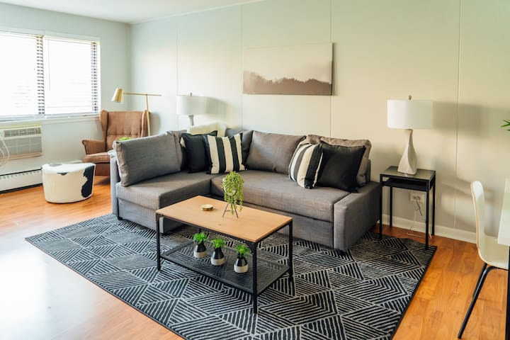 🏡 Winter Specials! Stylish 1BR Condo | Wrigley