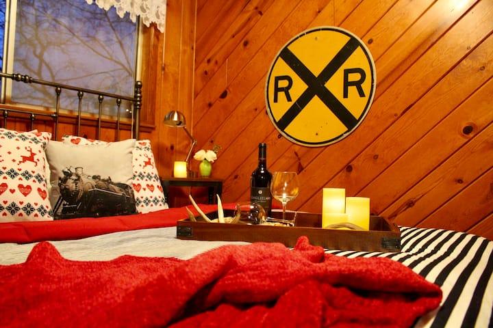 Rustic Railroad Cabin