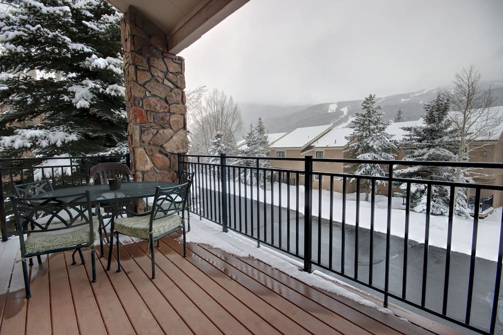 Enjoy the patio in the summer. Sit here for sipping on Coffee or Barbecuing