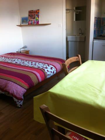 petit studio tout simple au calme - Saint-Pair-sur-Mer - Apartament