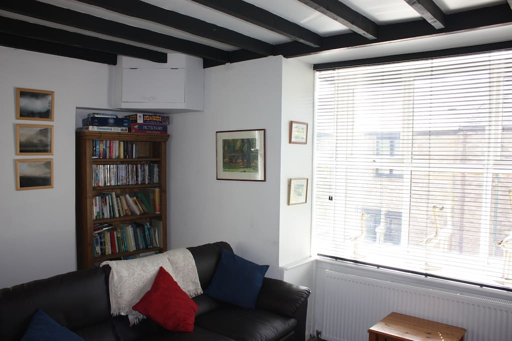 The lounge with dining area
