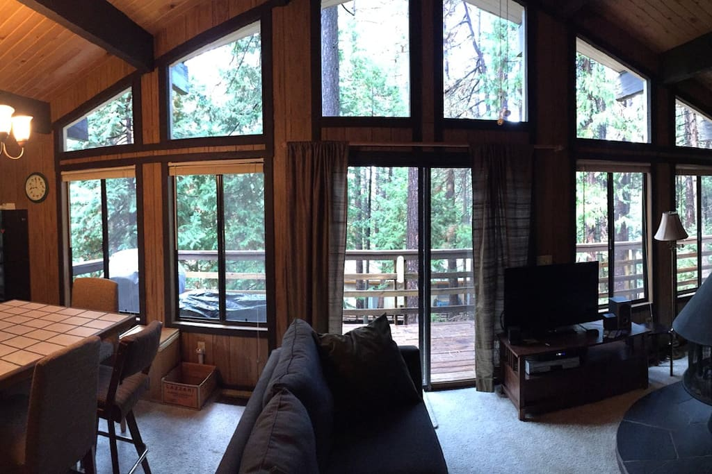 The Amazing view out of our living room windows
