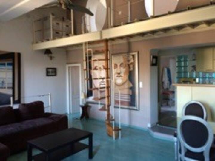Loft unique avec vue sur le vieux port de Bastia
