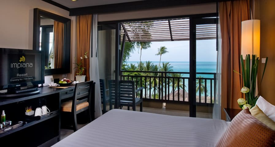 Marvelous beachfront cottage in Chaweng Noi Beach