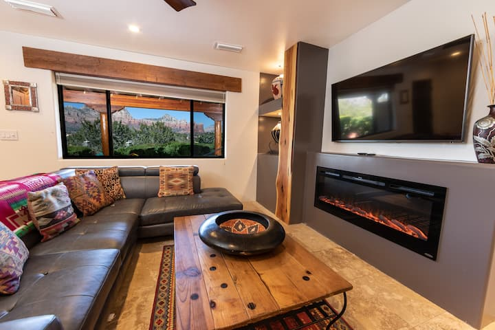 Sensational Sedona Scenery, Pvt 1BR Suite #2