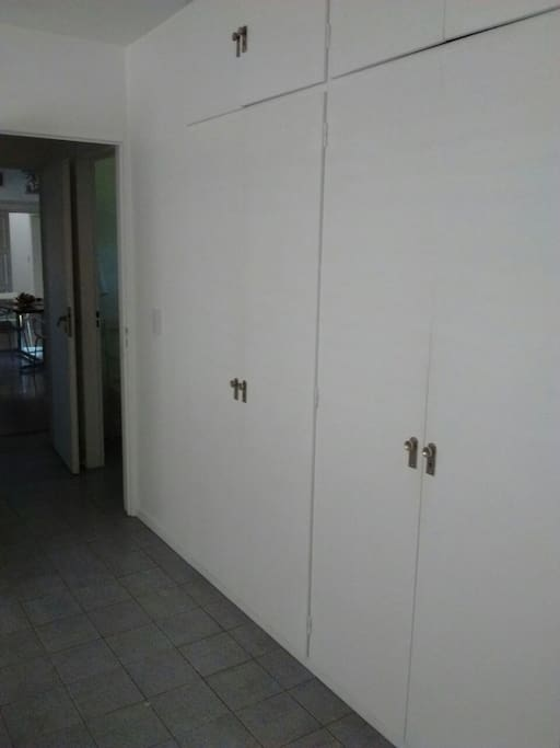 doble placard en dormitorio
