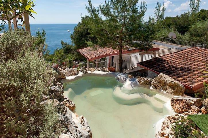 Antica Pajara, seafront villa with pool NEW 2020
