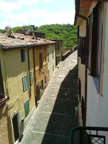 Apartment with one bedroom in Monticello Amiata, with enclosed garden and WiFi
