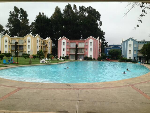 Hermoso departamento, condominio en Algarrobo - Algarrobo - Apartment