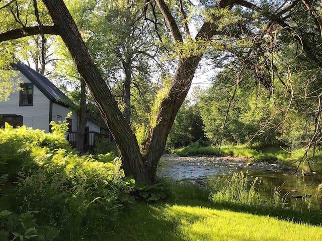 La maison Zen de la rivière Niger