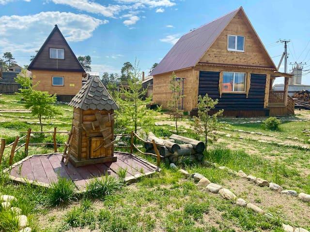 Уютные деревянные домики