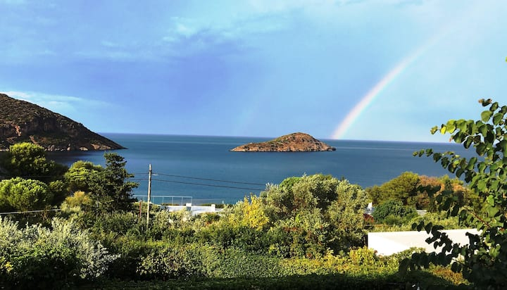 Villa Porto,  Superb Seaviews !  Relax in Nature..