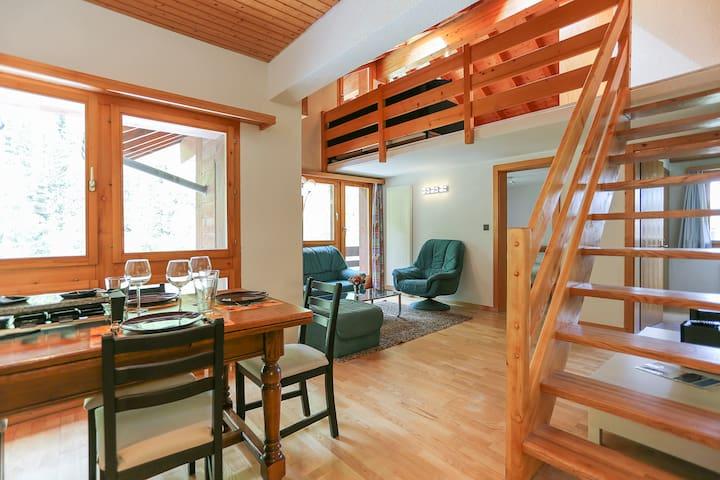 Bel Appart, centre 6- 10 pers Zinal - Zinal - Apartment