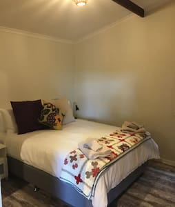 Master bedroom has Ensuite access. Super quality queen beds