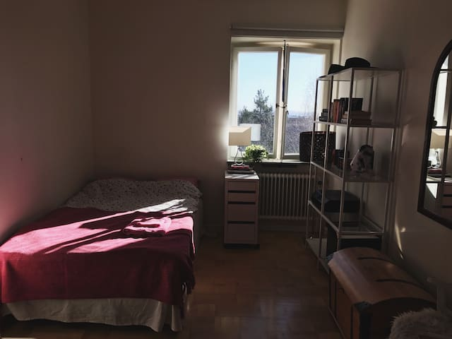 Spacious room with great view - Estocolmo - Apartamento