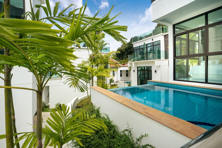 Private Seaview pool villa A2 on Kamala mountain