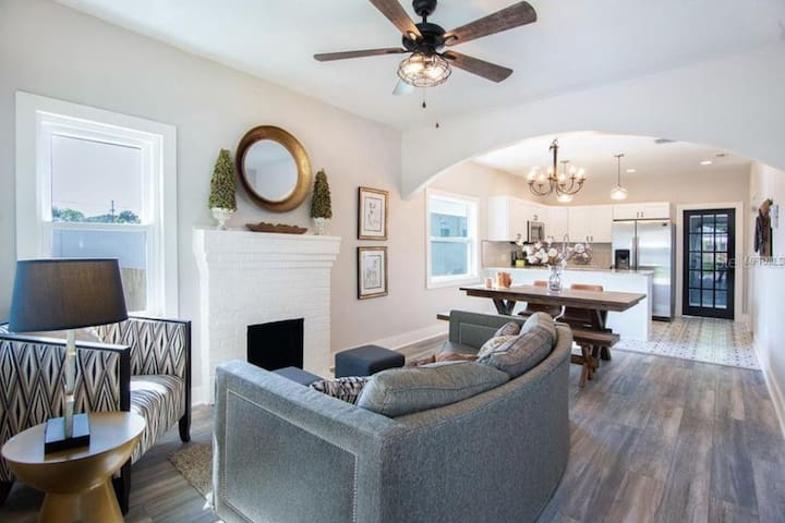 Explore Seminole Heights in this Cozy Home