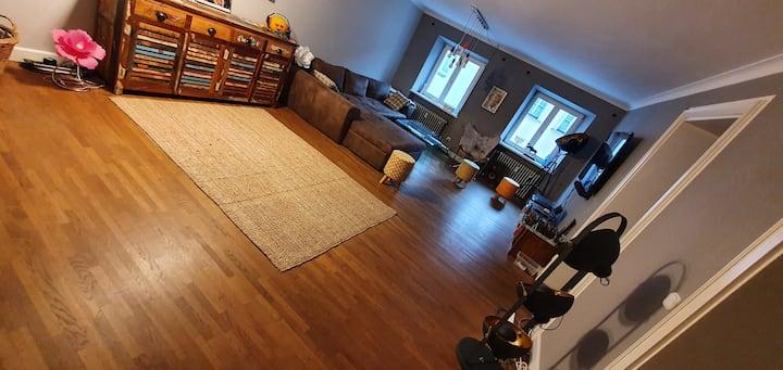 Wunderschöne, bunte, stylische 2-Etagenwohnung