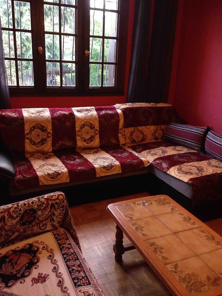 Chambre 4, en pavillon près paris, bourget CDG
