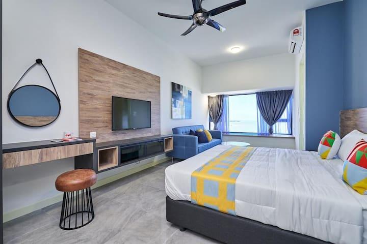 Stylish 1BR Melaka Seaside Home 007 - FREE WIFI