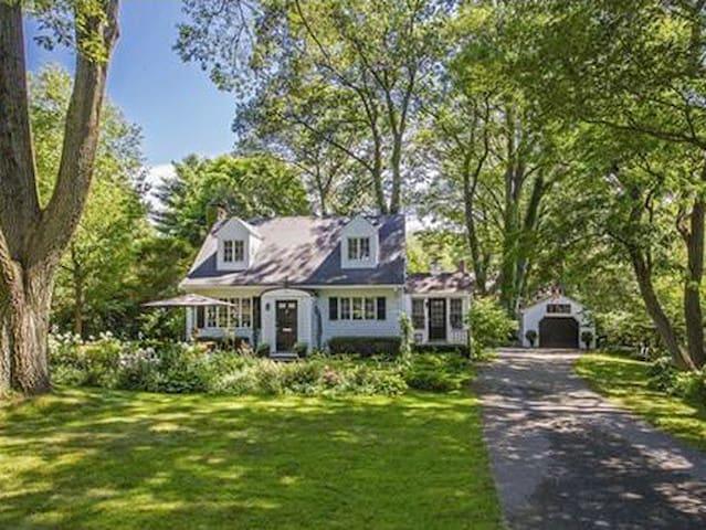 Enchanted Jamaica Plain Cottage