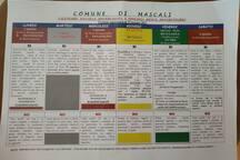 A Sant'Anna di Mascali si effettua la raccolta differenziata, questi sono i giorni con le varie indicazioni. Solo nel mese di agosto non si effettua la raccolta differenziata per avvantaggiare i turisti.