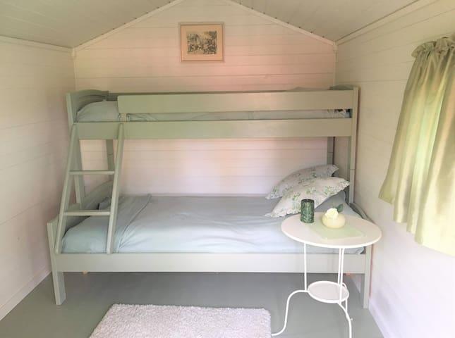 Bedroom in the wooden annex