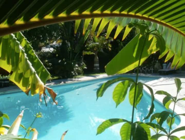 Villa avec piscine à Blue Bay