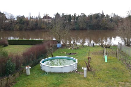 3 chambres avec vue sur la Dordogne - Bergerac