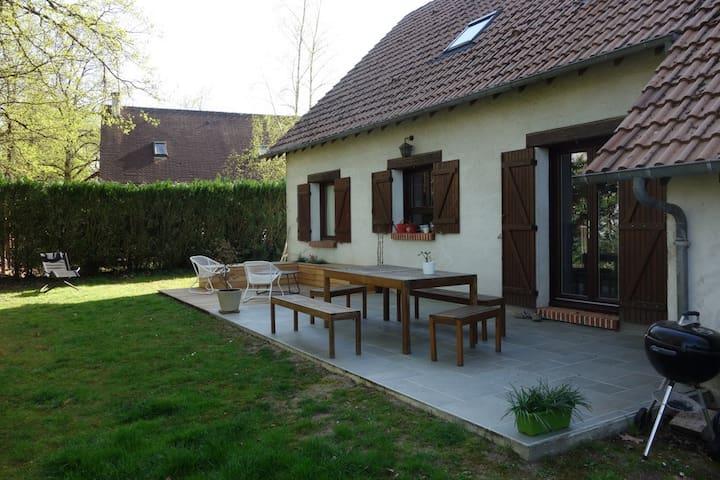 Jolie maison en Sologne et à proximité de Chambord - La Ferté-Saint-Aubin - Hus