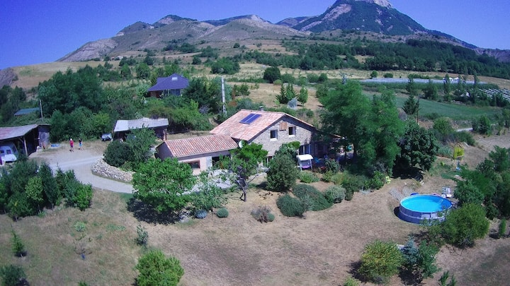 Restored farm house  with beautiful mountain view