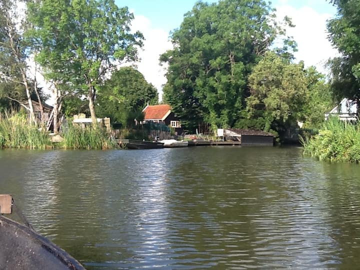 12 min.  from  Amsterdam by bus/car