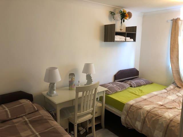Cozy double room in Huntingdon