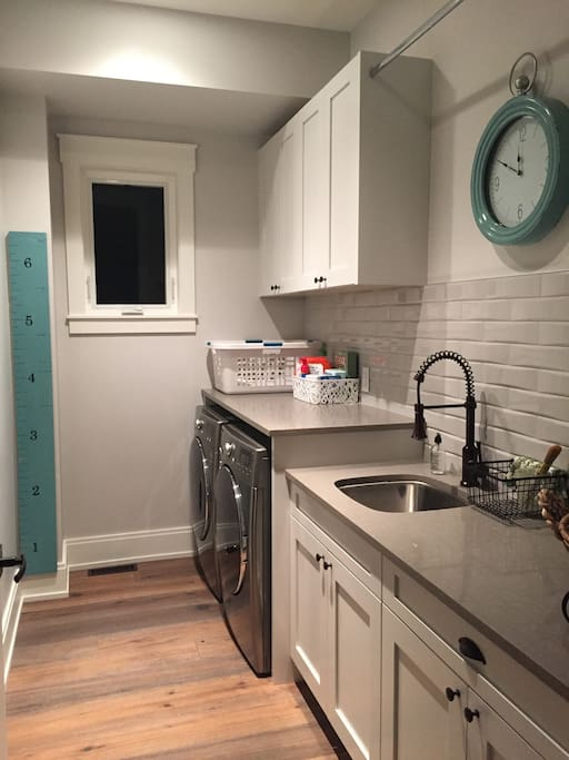 Fully Appointed Laundry Room