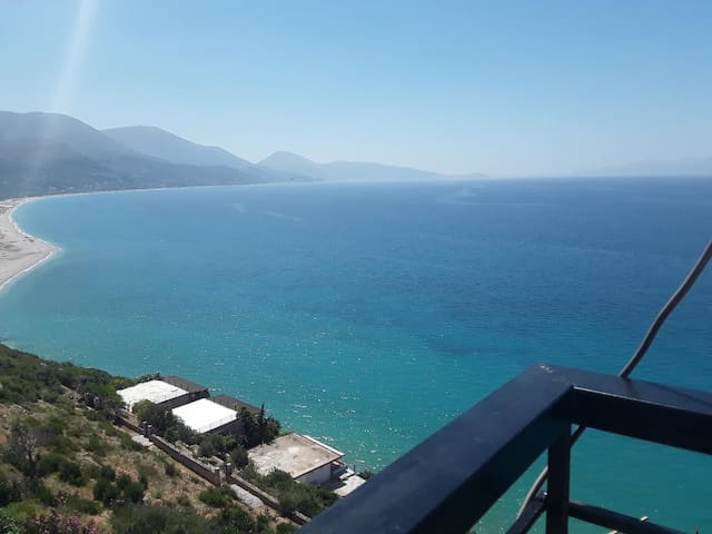 Suite with Amazing view on the Ionian sea.