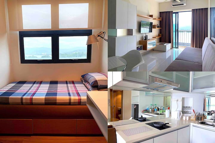Seaview Sunset 2 Bed Apartment Near K.K City