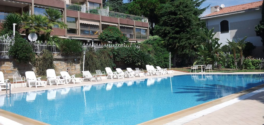 Sanremo Appartamento con Piscina