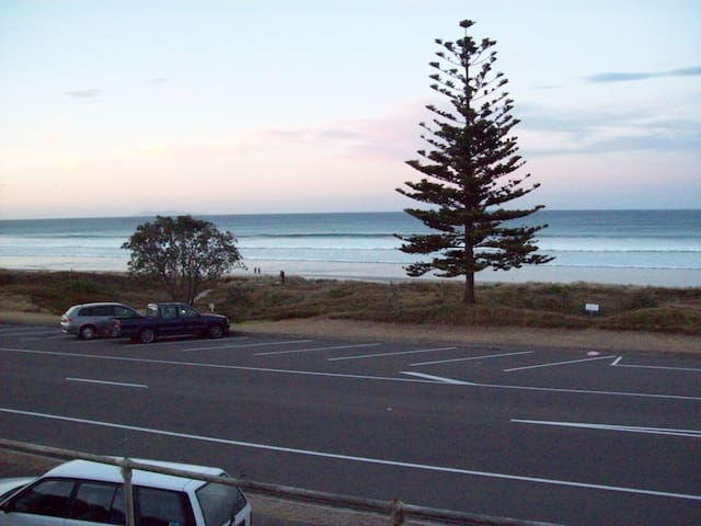 Sun Sand & Surf its across the road
