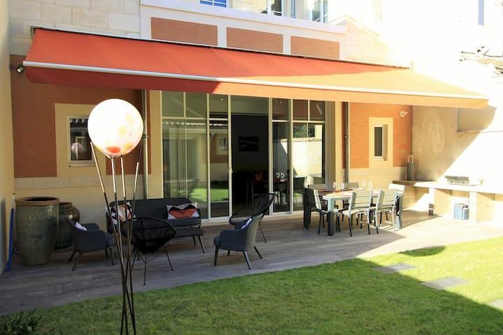 Appartement, terrasses & suite Bordeaux