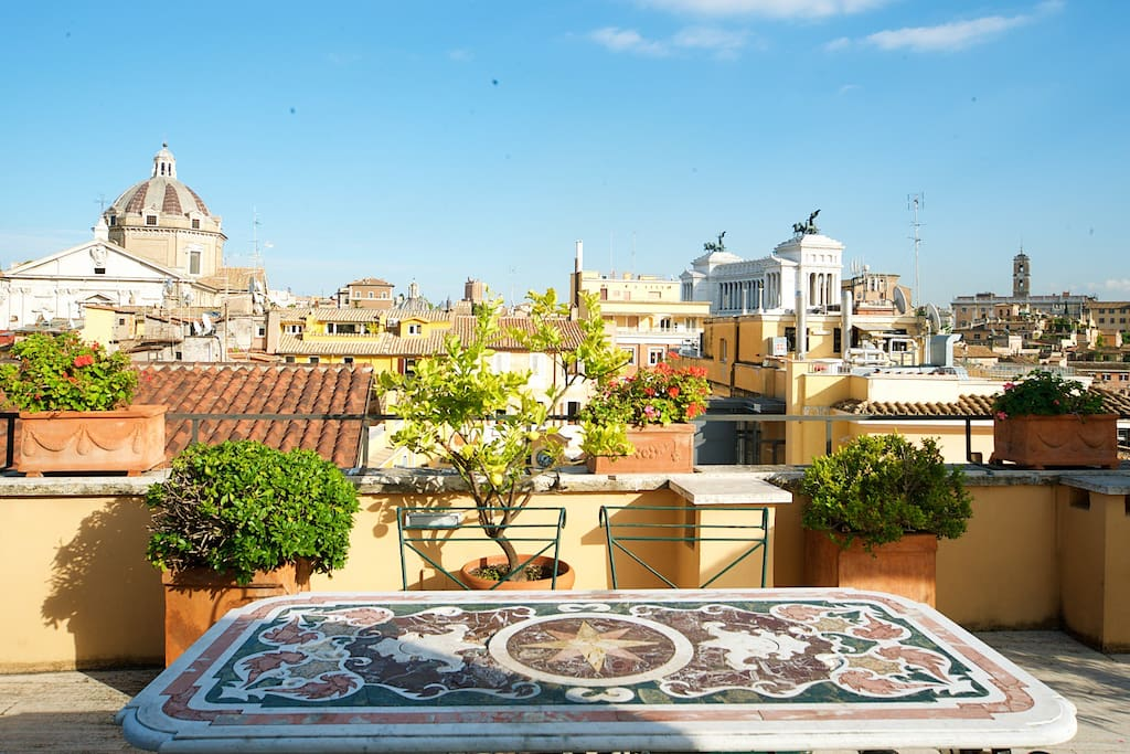Amazing view on Vittoriano
