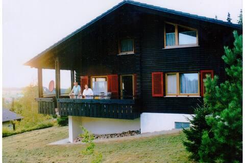Sfeervol vakantiehuis in Deilingen met privétuin