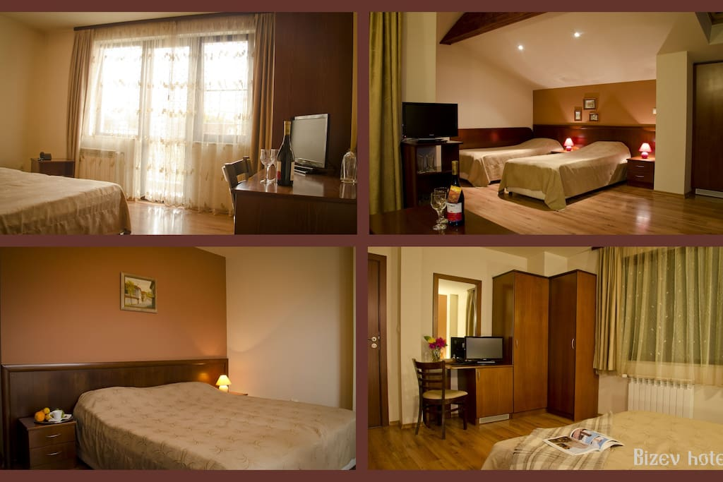 Double room in Bizev hotel