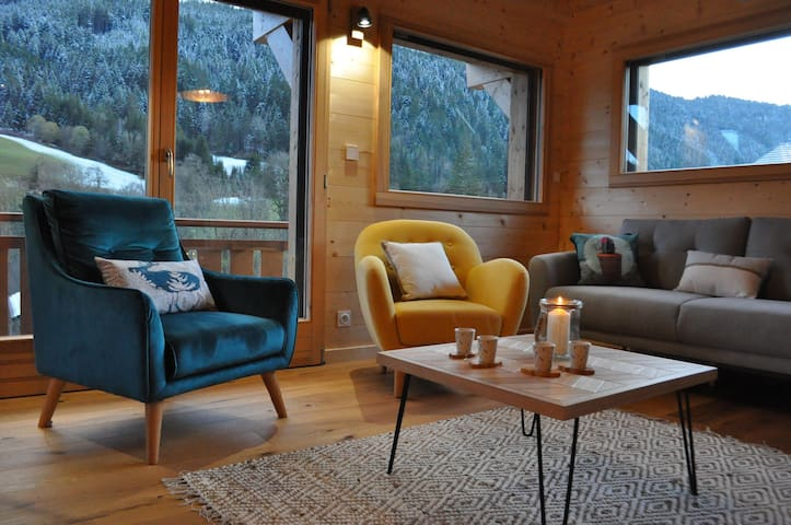 New and modern chalet for 10 people in Abondance