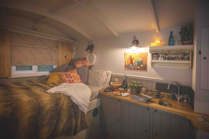 The Shepherds Hut at Top Farm