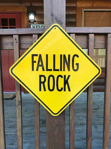 Falling Rock-So Close You can Walk to the Parkway